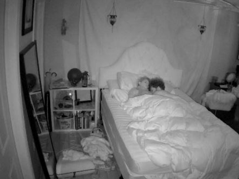 In real life everyone has to get some sleep. The cams show all.